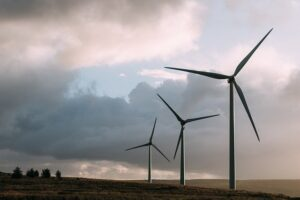Clean energy such as wind power for the environment
